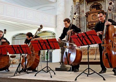 Bassiona Amoroso - Trinitatiskirche Wolfenbüttel (Foto: Volker Linne)