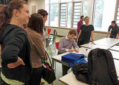 Rhapsody in School mit Alexej Gorlatch - Gymnasium im Schloss Wolfenbüttel (Foto: jkk)