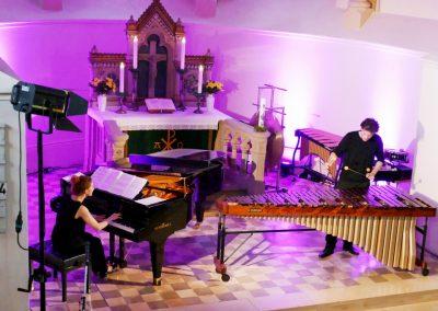 Ensemble farbTon - Ev. Kirche Klein Lafferde (Foto: Volker Linne)