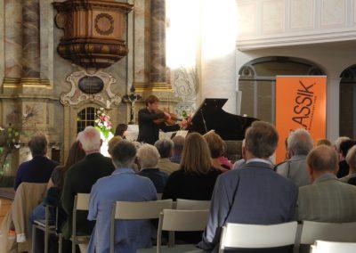 Nils Mönkemeyer & William Youn- Trinitatiskirche Wolfenbüttel (Foto: jkk)