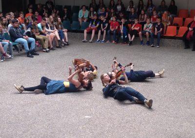 Quartett PLUS 1 - Schulkonzert Gymnasium Julianum Helmstedt (Foto: jkk)