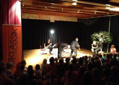 Schulkonzert mit Claire Obscure Saxophonquartett - Grundschule Destedt (Foto: jkk)