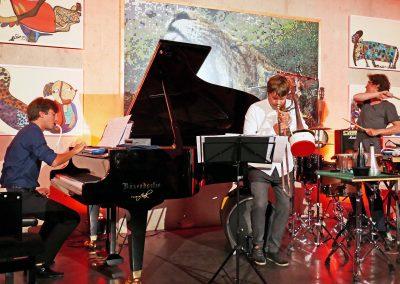Trio Belli-Fischer-Rimmer - paläon Schönlingen (Foto: Volker Linne)