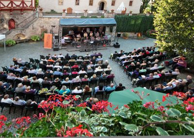 Big Band Fette Hupe - Burg Warberg (Foto: Volker Linne)