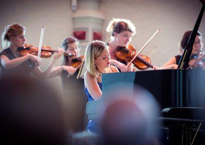 Anika Treutler & Orchester M18 - Juleum Helmstedt (Foto: Sebastian Petersen)
